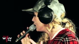 """The Tings Tings - """"Wrong Club"""" (Live at WFUV)"""