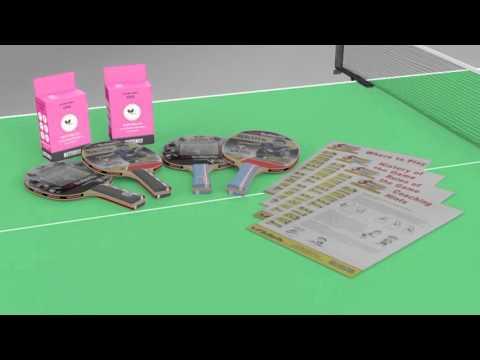 Butterfly Start Sport Table Tennis Starter Set - Video Presentation