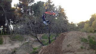 XTreme Kids Are Awesome 7 Year-old Dirt Jumps And Riding Street At Madrid, Spain
