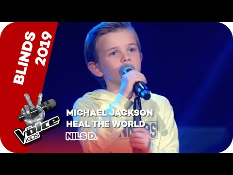 Michael Jackson - Heal The World (Nils D.) | Blind Auditions | The Voice Kids 2019 | SAT.1
