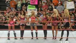 The WWE Divas announce Timberland's Video