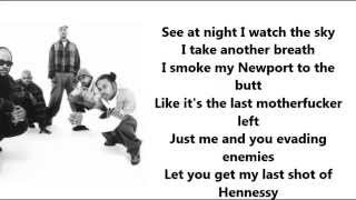 2pac-Never had a friend like me lyrics video
