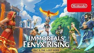 Nintendo Immortals Fenyx Rising - The Lost Gods DLC Trailer - Nintendo Switch anuncio