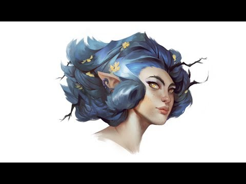 Wood-Elf Timelapse
