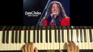 HOW TO PLAY - Color Of Your Life - Michał Szpak (Poland) - Eurovision 2016 Song (Piano Tutorial)