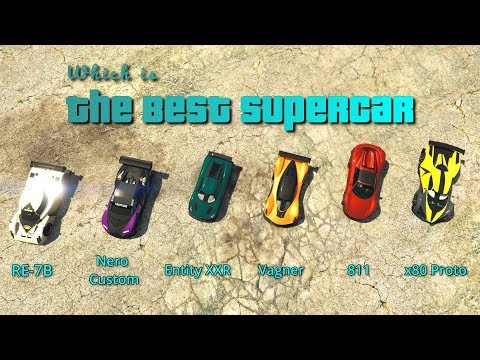 GTA V Online Which Is Best Supercar | Top Speed + Accleration + Braking