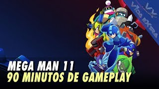 Mega Man 11 - 90 minutos de gameplay