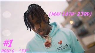 Polo G Claims the #1 Spot! Top 5 Hip Hop Music Videos of the Week! (May 16th - May 23rd)