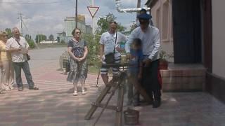 Чернышковский казачий музей. Старинная казачья пушка