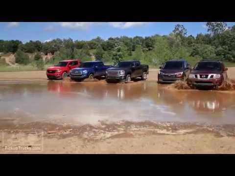 2016 Midsize Pickup Challenge: Off Road