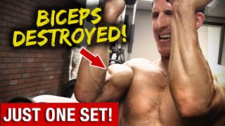 Biceps Workout in ONE Set (GUARANTEED BICEP SORENESS!!) by ATHLEAN-X™
