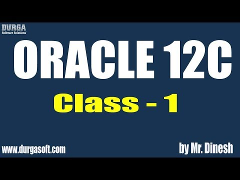 ORACLE 12C Online Training by Dinesh on 18-06-2018 - YouTube