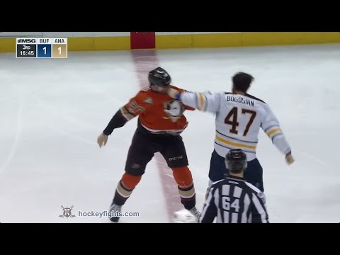 Zach Bogosian vs Nick Ritchie