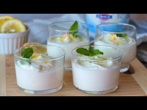 Cómo Preparar Un Fácil Mousse De Yogur y Limón