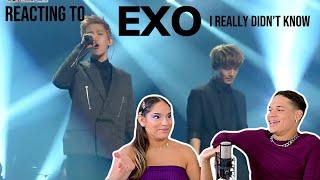 Waleska & Efra react to EXO Chen & Baekhyun - Really I Didn't Know COVER   REACTION