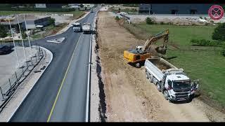 Radovi na izgradnji bulevara Podgorica - Danilovgrad, 06.09.2021