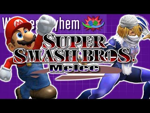 Gettin' smashed melee style! | Wednesdayhem | Stream four Star