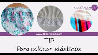 Tip para colocar elásticos