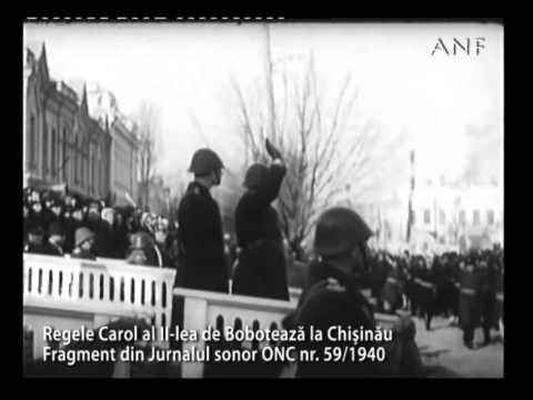 Carol II, ultima Bobotează la Chişinău