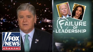 Hannity gives Biden 'scorching' six month report card