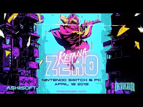 Traler d'annonce sur Switch de Katana Zero