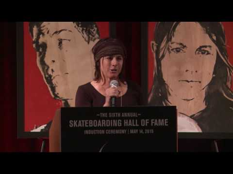 Cara-Beth Burnside | 2015 | Skateboarding Hall of Fame Induction Ceremony