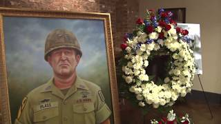 Fort Benning joined family members in paying final respects to CSM R Charles Plass June 16