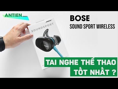 BOSE SOUND SPORT : Mẫu tai nghe giá ổn có nhiều công nghệ cho AE gymer