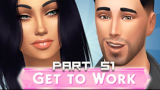 The Sims 4 | Get To Work | Part 51 - Growing Belly.