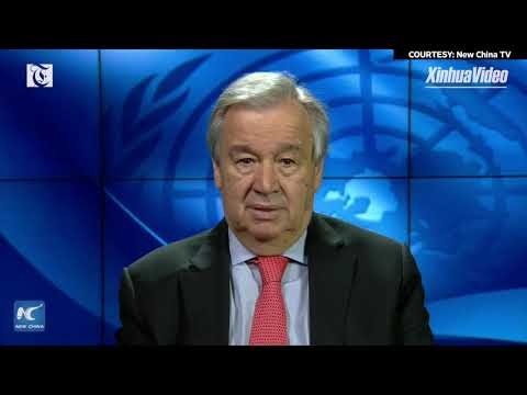 UN chief says more people could slip into hunger as result of COVID-19