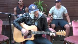 Lizotte's Courtyard Sessions - Joe Moore, Kev Naiqama & Dane Gagai, Save Tonight (cover)