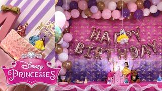 DISNEY PRINCESS PARTY! | 3RD BIRTHDAY PARTY | PRINCESS PARTY THEME