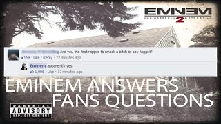 Eminem Replies to fans on Facebook Q&A MMLP2!!