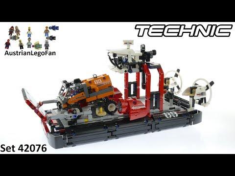 Vidéo LEGO Technic 42076 : L'aéroglisseur