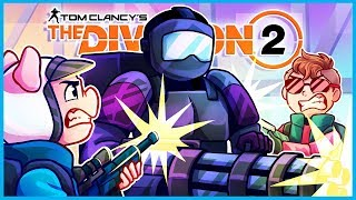 BATTLING the CHONKIEST BOIS in The Division 2! (The Division 2 Funny Moments Gameplay End Game)