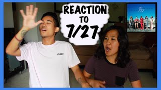Reaction to 7/27 album (Japanese Deluxe Edition)