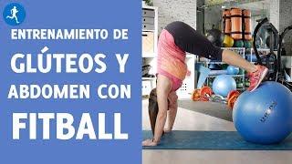 Rutina de entrenamiento de GLÚTEOS y ABDOMEN con FITBALL | Vitónica