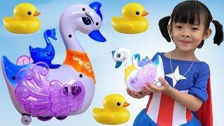 Trò Chơi Thiên Nga Đẻ Trứng – Swan Laying Eggs ❤ AnAn ToysReview TV ❤