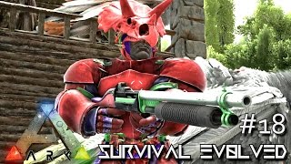 ARK: Survival Evolved - PUMP ACTION SHOTGUN BABY !!! - SEASON 3 [S3 E18] (Gameplay)