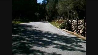 preview picture of video 'Cycling up Sa Calobra in Mallorca'