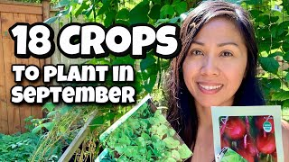 18 Crops You Can Plant In September