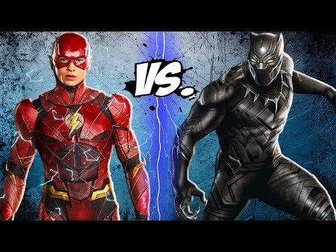 THE FLASH vs BLACK PANTHER - Epic Battle