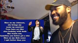 Eminem - Seduction (Lyrics) - REACTION
