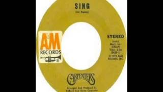 Carpenters - Sing (1973)