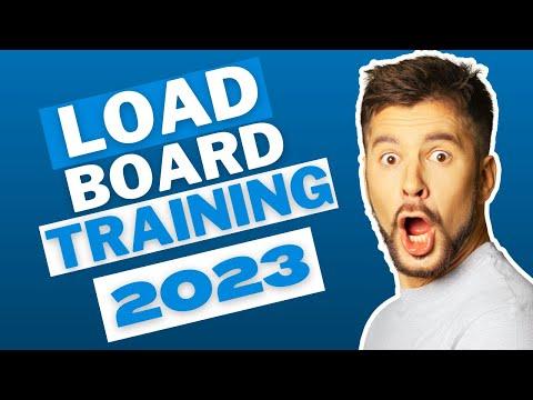 In-Depth Load Board Training In 2020 - YouTube