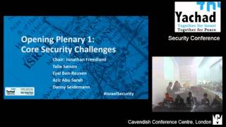 Yachad-NIF Security Conference: Opening Plenary 1