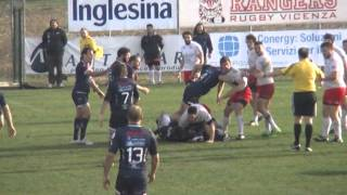 preview picture of video '16 febbraio 2014: Rangers Rugby Vicenza - Gran Sasso Rugby 15-6'