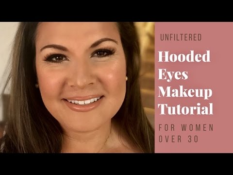 MAKEUP FOR HOODED EYES: CLIENT MAKEUP TUTORIAL for Women Over 30