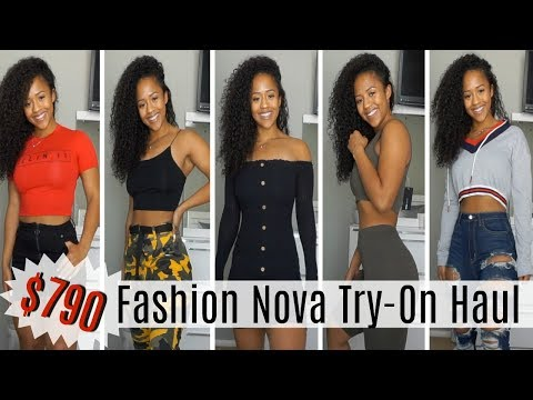 $790 FASHION NOVA TRY-ON HAUL | Clothes That Actually Fit My Curves 🍑