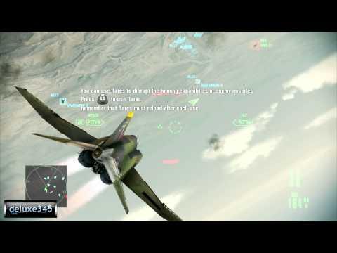 Gameplay de Ace Combat Assault Horizon - Enhanced Edition